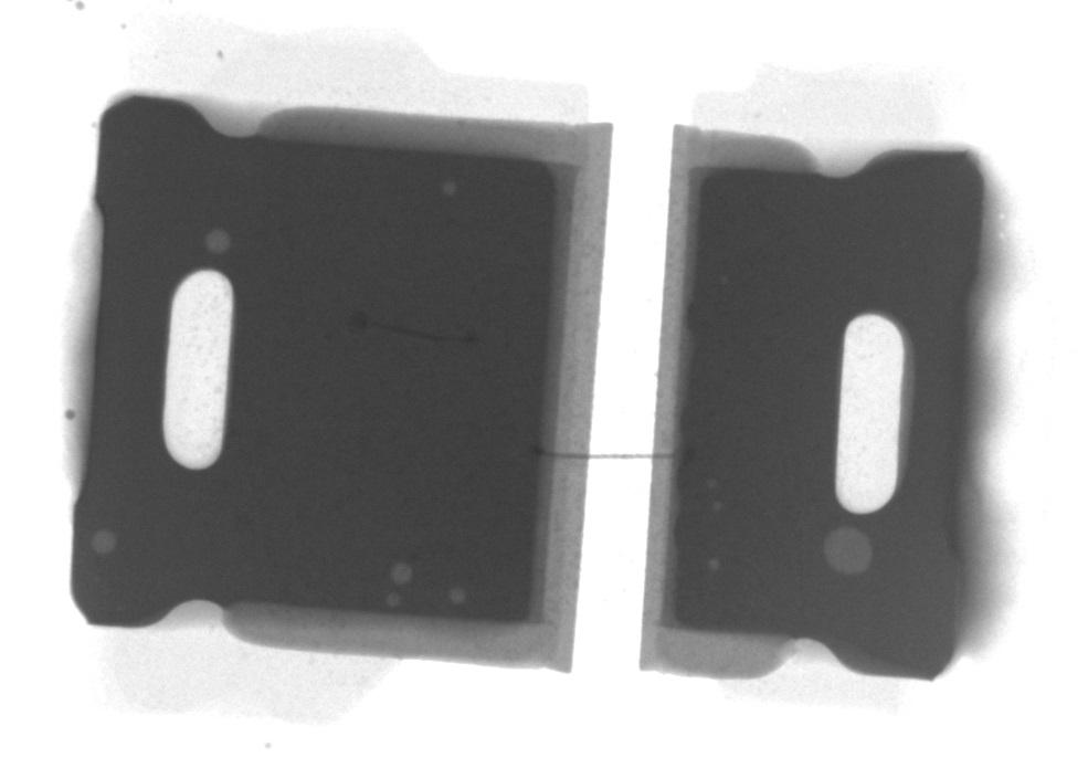 LED light solder voids X-ray